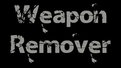 Weapon Remover - убираем оружие с земли