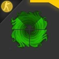 """Скачать  радар """"Storm"""" зеленого цвета для Counter Strike 1.6"""