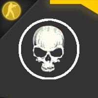 Скачать радар в виде черепа для Counter Strike 1.6