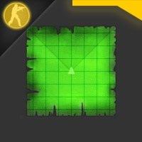 Скачать радар в виде карты сокровищ для counter Strike 1.6