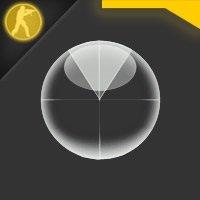 Скачать белый радар в виде мяча для Counter Strike 1.6