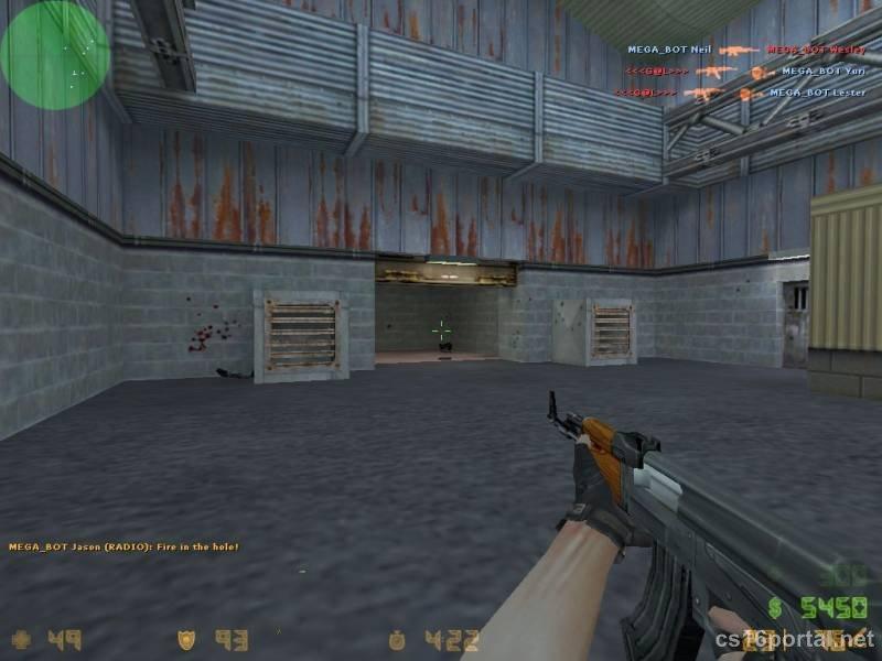 Скачать стандартные модели оружия для cs 1. 6.