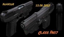 Скачать модель пистолета с лазерным прицелом