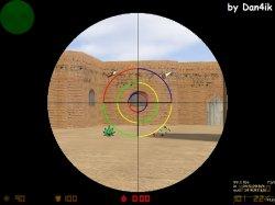 Скачать спрайт прицела для Counter Strike 1.6