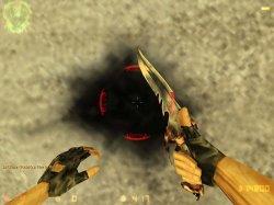 """Скачать спрайт получаемого урона """"Ouch"""" в виде красных полу-дуг для Counter-Strike 1.6"""