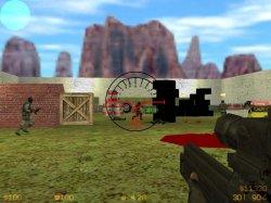 Скачать прицел для пушек Aug/Sig для Counter Strike 1.6