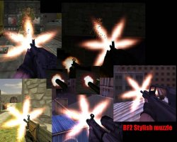 Скачать красивые спрайты в стиле BF2 для Counter Strike 1.6
