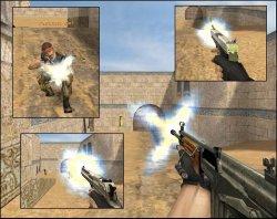 Скачать желтые вспышки выстрелов для вашей CS