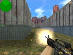 Скачать красивые желтые вспышки для Counter Strike 1.6