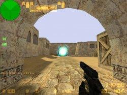 Скачать вспышки взрыва гранаты бирюзового цвета для Counter Strike 1.6