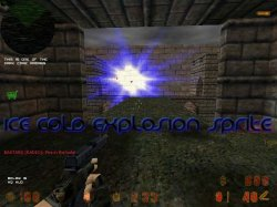 Скачать красивые синие спрайты вспышек гранаты для Counter Strike 1.6