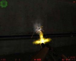 Скачать желтые вспышки выстрелов для Counter Strike 1.6