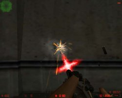 Скачать красные спрайты вспышек выстрелов для CS 1.6