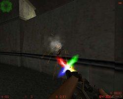Скачать красивые разноцветные вспышки выстрелов для CS 1.6