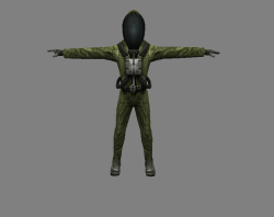 Модель эколога из игры S.T.A.L.K.E.R