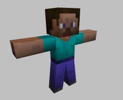 Скачать модель игрока из игры Minecraft для кс