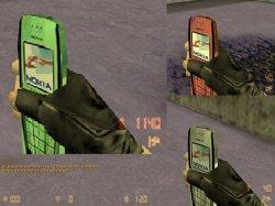 Скачать модели гранат в виде телефона Nokia для CS 1.6