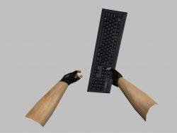 Нож клавиатура для CS 1.6