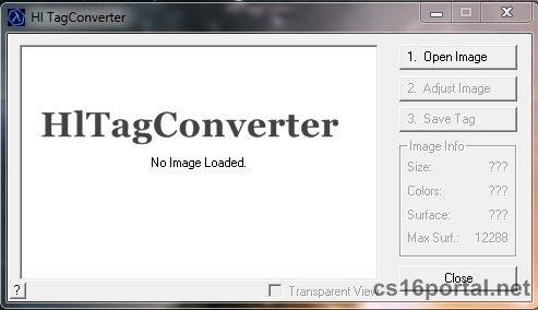 Скачать программу для создания лого: cs16portal.net/soft/210-hltagconverter-programma-dlya-sozdaniya...