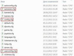 CFG файлы в CS 1.6