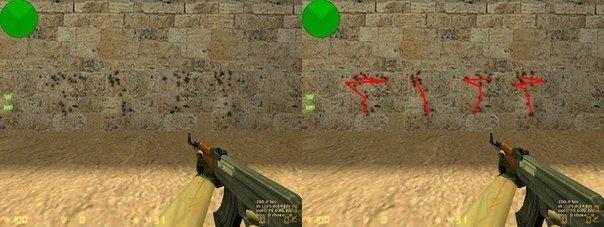 Тест разброса AK47
